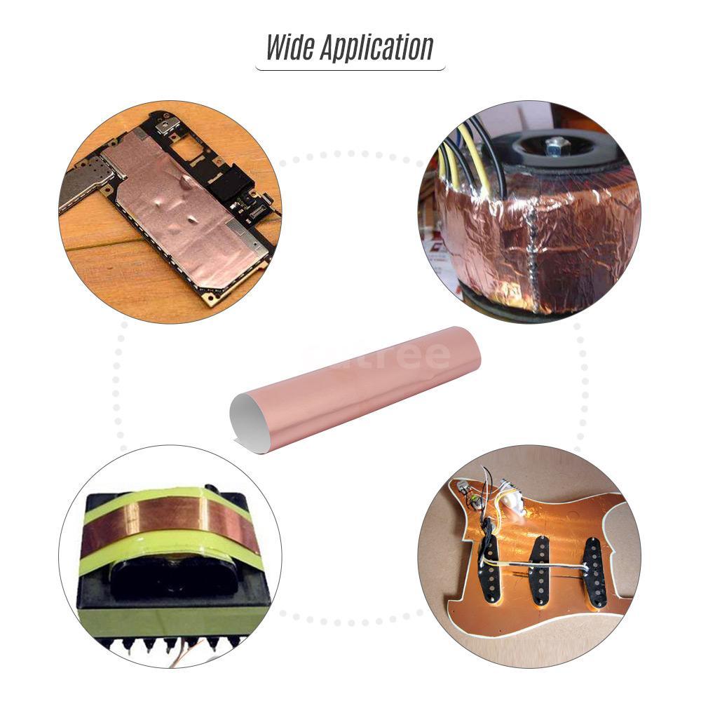 22.5cm Electric Guitar Bass Copper Foil Tape Electro-Magnetic J4F1 30