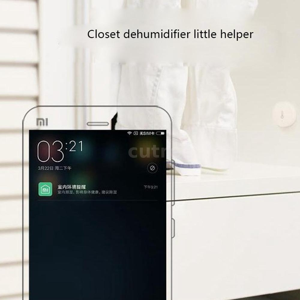 Xiaomi Mi WiFi Smart Temperature Humidity Sensor+Gateway Android iOS APP C3U3